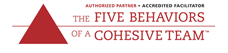 The Five Behaviors of a Cohesive Team Accredited Partner Logo